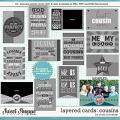 Cindy's Layered Cards - Cousins by Cindy Schneider