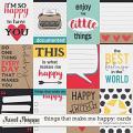 Things that make me happy: cards by Blagovesta Gosheva