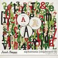 Alphamania {Chipboard 02} by Digilicious Design