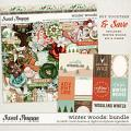 Winter Woods: Bundle by Kristin Cronin-Barrow & Digital Scrapbook Ingredients