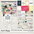 2016 Life Stories - January Bundle by Sugary Fancy