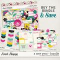 A New Year Bundle by Digital Scrapbook Ingredients