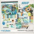 Monsters Rule: Bundle by Dream Big Designs