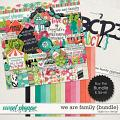 We Are Family {Bundle} by Digilicious Design