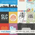 Salt Lake City, Utah Cards by Jady Day Studio and Amanda Yi