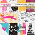 Just The Way You Are Cards by Studio Basic