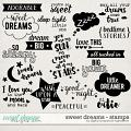 Sweet Dreams | Stamps by Digital Scrapbook Ingredients