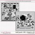Cindy's Layered Templates - Half Pack 146: I Heart U 10 by Cindy Schneider