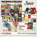 Dots and Buttons Bundle by Dream Big Designs