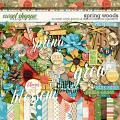 Spring Woods by Kristin Cronin-Barrow & Digital Scrapbook Ingredients