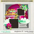 Brook's Templates - Singleton 37 - Lucky Charm by Brook Magee