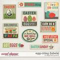 Egg-citing {Labels} by Blagovesta Gosheva