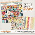 A Little Bit Quirky Bundle by Digital Scrapbook Ingredients