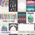 A Birthday Wish: CARDS by Studio Flergs