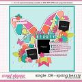 Cindy's Layered Templates - Single136: Spring Beauty