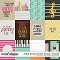 Sing your heart song {cards} by Amanda Yi & Blagovesta Gosheva
