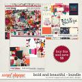 Bold And Beautiful Bundle by Brook Magee and Studio Basic Designs