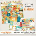 Summer Bucket List Bundle by Digital Scrapbook Ingredients
