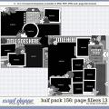 Cindy's Layered Templates - Half Pack 156: Page Fillers 13 by Cindy Schneider