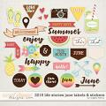 2016 Life Stories - June Labels & Stickers by Sugary Fancy
