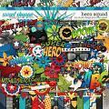 Hero Squad: FULL KIT by Studio Flergs & Traci Reed