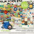 A Boy's World: Collection by Studio Basic and Traci Reed