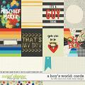 A Boy's World: Cards by Studio Basic and Traci Reed
