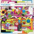 Rainbows Of Life: Elements by Studio Basic