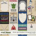 Dress-ups {Knights & Dragons} Cards by Digilicious Design