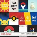 Catch 'Em All: CARDS by Traci Reed and Studio Flergs