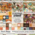 Seasonal Woods Mega Bundle by Kristin Cronin-Barrow & Digital Scrapbook Ingredients