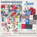 Deliciously Decorated Bundle by Dream Big Designs and Meagan's Creations