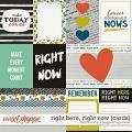 Right Here, Right Now : Cards by Amanda Yi & Blagovesta Gosheva