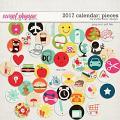 2017 Calendar: Pieces by Studio Basic