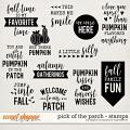 Pick Of The Patch | Stamps by Digital Scrapbook Ingredients