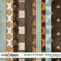 Season of Change - Bonus Papers by Red Ivy Design
