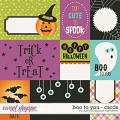 Boo To You | Cards by Digital Scrapbook Ingredients