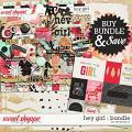 Hey Girl : Bundle by Amanda Yi