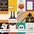 Boo Boulevard-Cards by Melissa Bennett