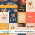 Everyday Blessings: Cards by Kristin Cronin-Barrow