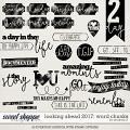 Looking Ahead 2017 - Word Chunks by Amanda Yi