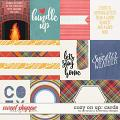 Cozy on up - cards by Amanda Yi and WendyP Designs