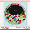 Cindy's Layered Template - Christmas Single 17 by Cindy Schneider