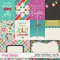 Jolly Holiday | Cards by Studio Flergs & Digital Scrapbook Ingredients