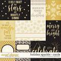 Holiday Sparkle | Cards by Digital Scrapbook Ingredients