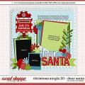 Cindy's Layered Templates - Christmas Single 20: Dear Santa by Cindy Schneider