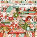Time For Mistletoe And Holly by Jady Day Studio