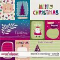 Santa's Coming - Cards by Red Ivy Design