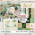 Joy To The World - Bundle by Red Ivy Design