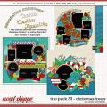 Cindy's Layered Templates - Trio Pack 33: Christmas Treats by Cindy Schneider